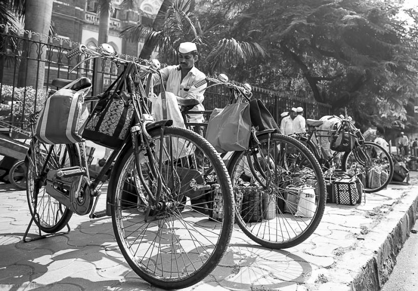 The dabbawalas ofMumbai