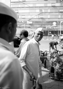 Veteran dabbawala