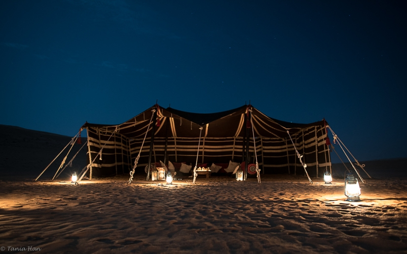 Bedouins and gods havingfun