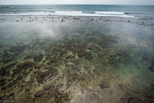 Clear blue water, Galle Fort