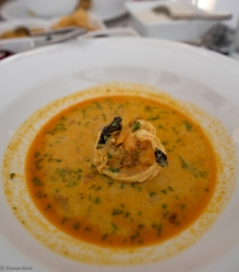Tiger prawn curry, Fort Printers Hotel