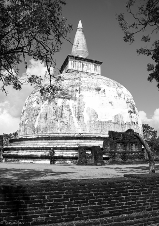 Stupa in Polonnaruwa