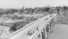 Wazirabad Barrage visible in top left corner